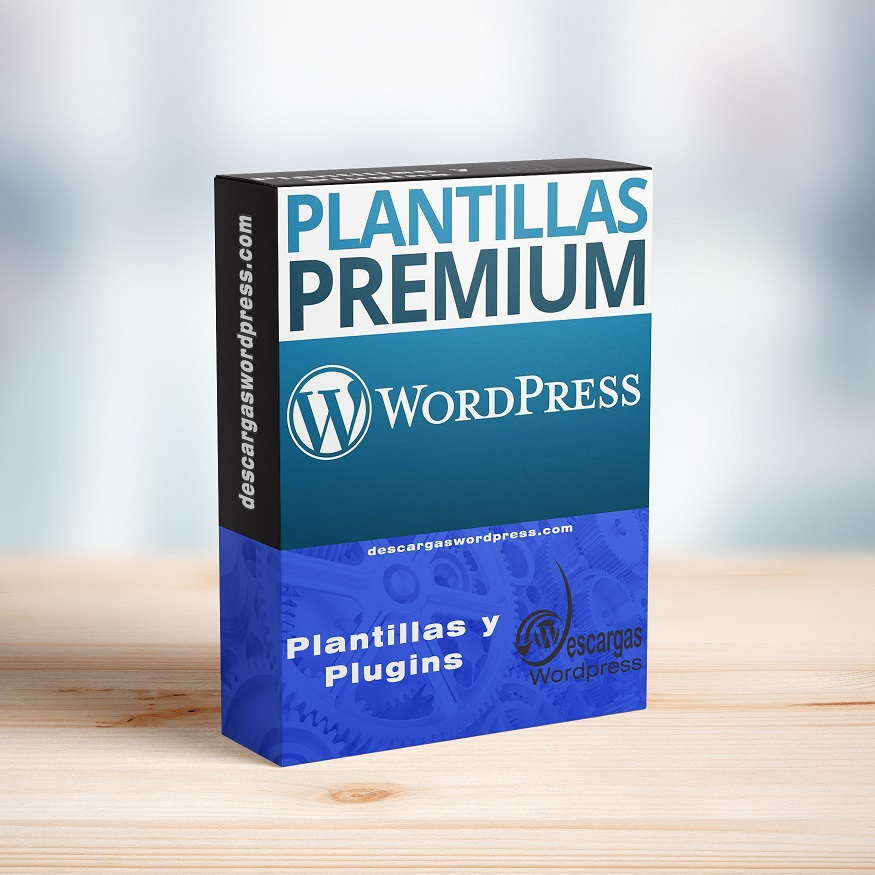 Plantillas premium para WordPress
